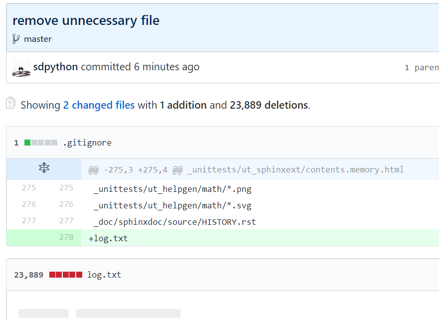 Remove big files from git history
